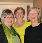 With Nancy and Frances at Ottawa Book Club