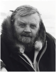 Farley Mowat, photo by Fred Phipps