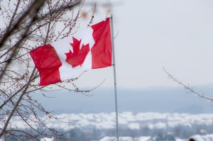 Photo of Canadian Flag